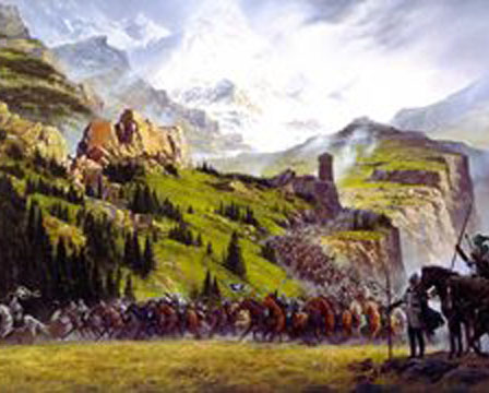 The Riders of Rohan, by Ted Nasmith